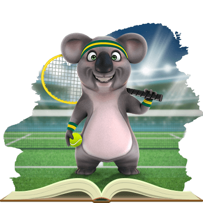 Kev the Koala from Fair Go is Excited for the Australian Open